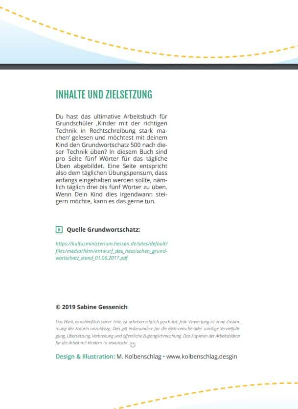 Blick ins Buch Rechtschreibung Arbeitsbuch